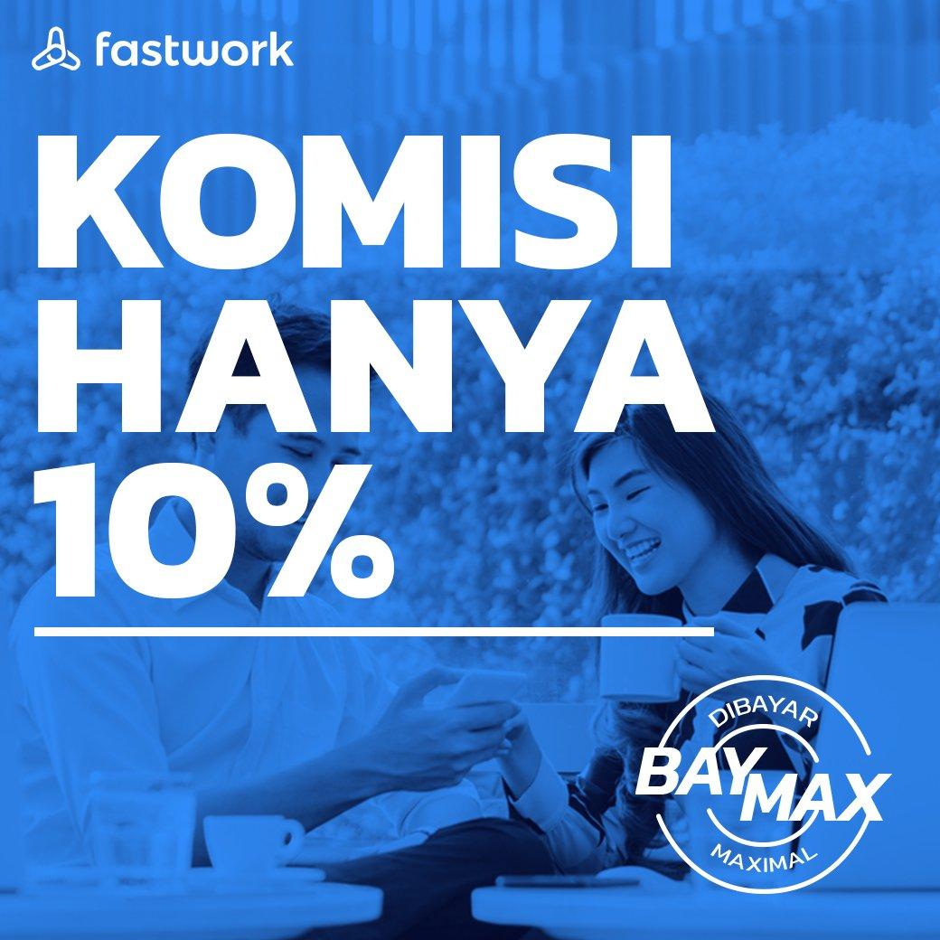Hi Freebuddies! BAYMAX diperpanjang lagi loh jadi komisi untuk freelancer tetap 10% aja. Di Fastwork, kamu selalu dibayar maksimal deh! Jadi untuk kamu kamu dan kamuuu yang pengen mulai kerja jadi freelancer, langsung aja daftar! #FastworkIndonesia #cepetgaribet #Fastwork https://t.co/dcllrRjUJZ