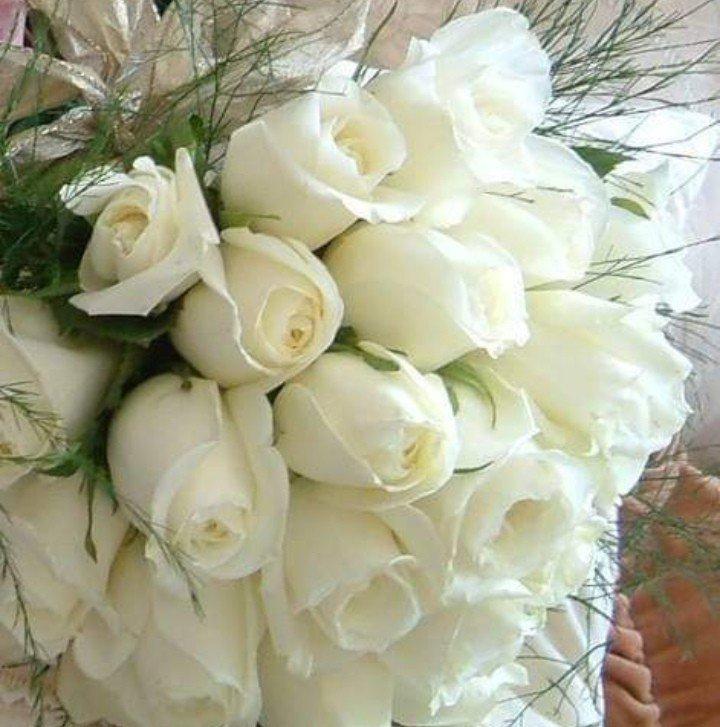 Белые розы открытка с др, юбилеем лет мужчине