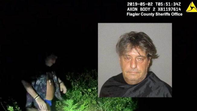 美国佛州一男子穿泳裤主动邀警逛自家大麻园 被捕时还说「赞」