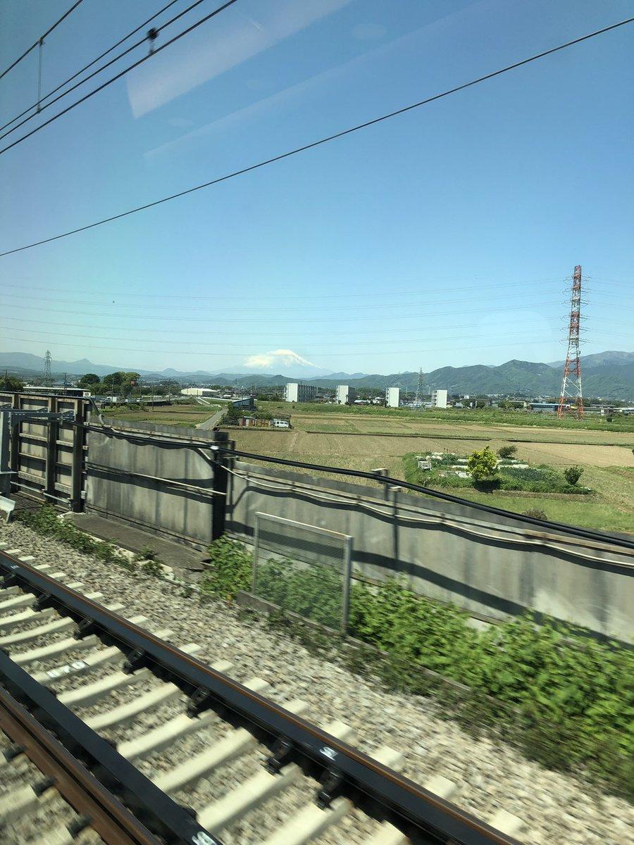 今日から転職した会社の初出勤!初日から名古屋本社での研修で緊張とひさびさの会社勤めが楽しみでありんす。富士山見れたし頑張ってこ!