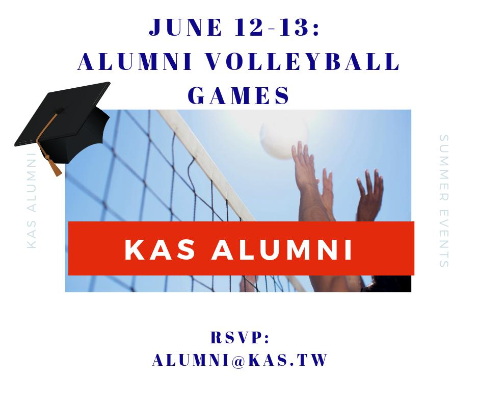CALLING ALL ALUMNI: Our annual alumni events are taking place mid June this year. check the details below, and be sure to RSVP!