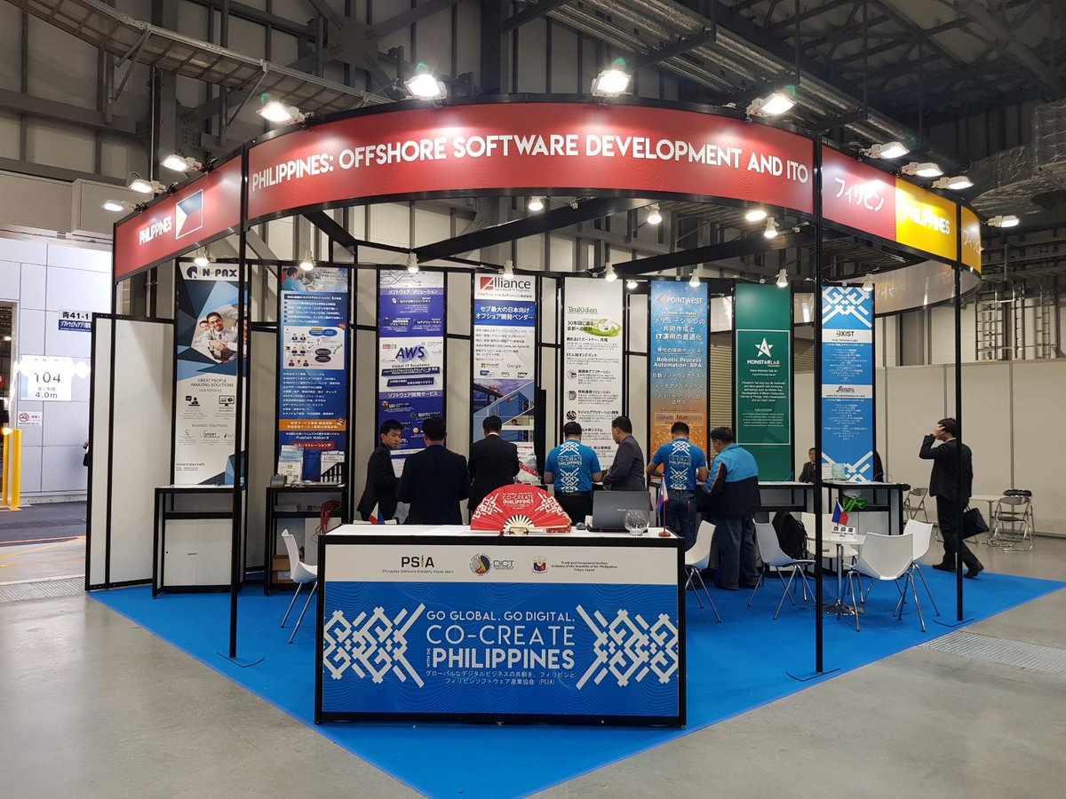 Day 1 at SODEC Japan 2019. Visit us at the Philippine Pavilion (Booth 41-1) at Aomi Hall, Tokyo Bigsight Exhibition Hall as we present the value of #DevOps in your Application Transformation Journey #APPTX #JapanITWeek https://t.co/OM4McVwGNy