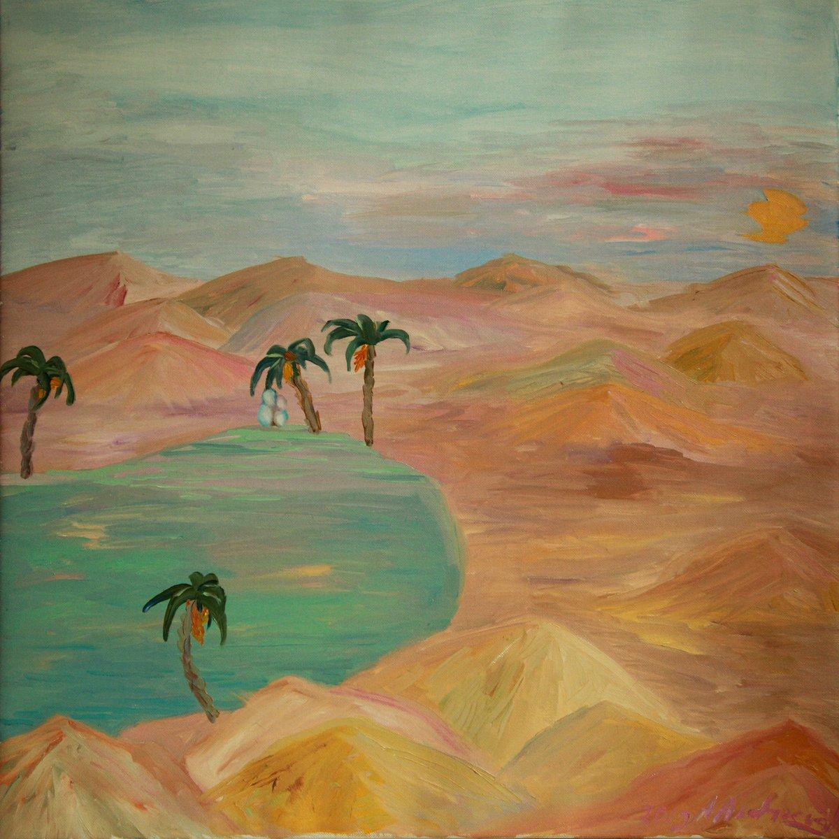 Картинки пустыни рисовать