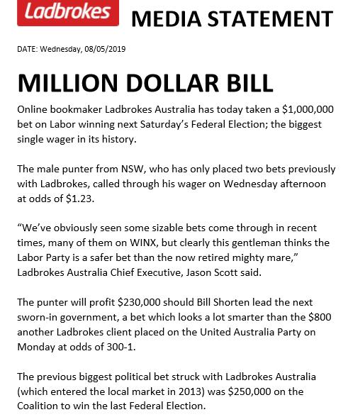 Online betting australia politics government sports betting line history