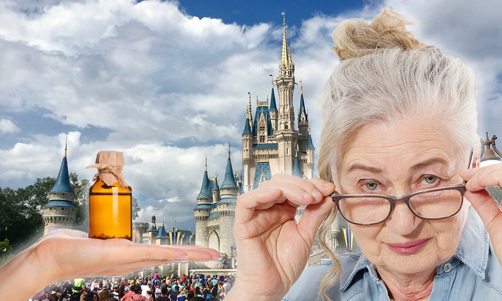 69岁婆婆因在佛罗里达州迪士尼乐园藏有大麻二酚油而被捕