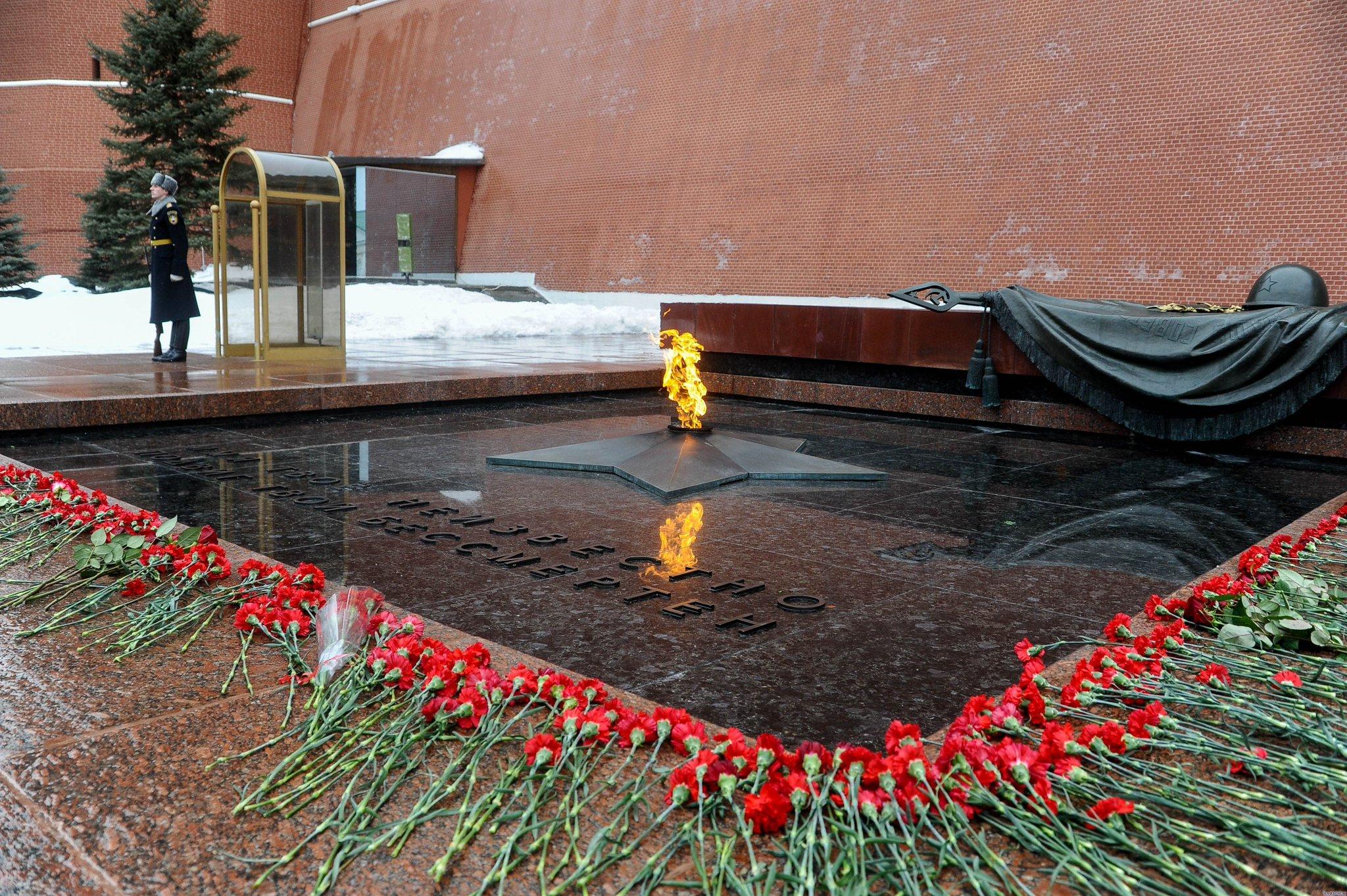 Открытка памятник неизвестному солдату, днем свадьбы