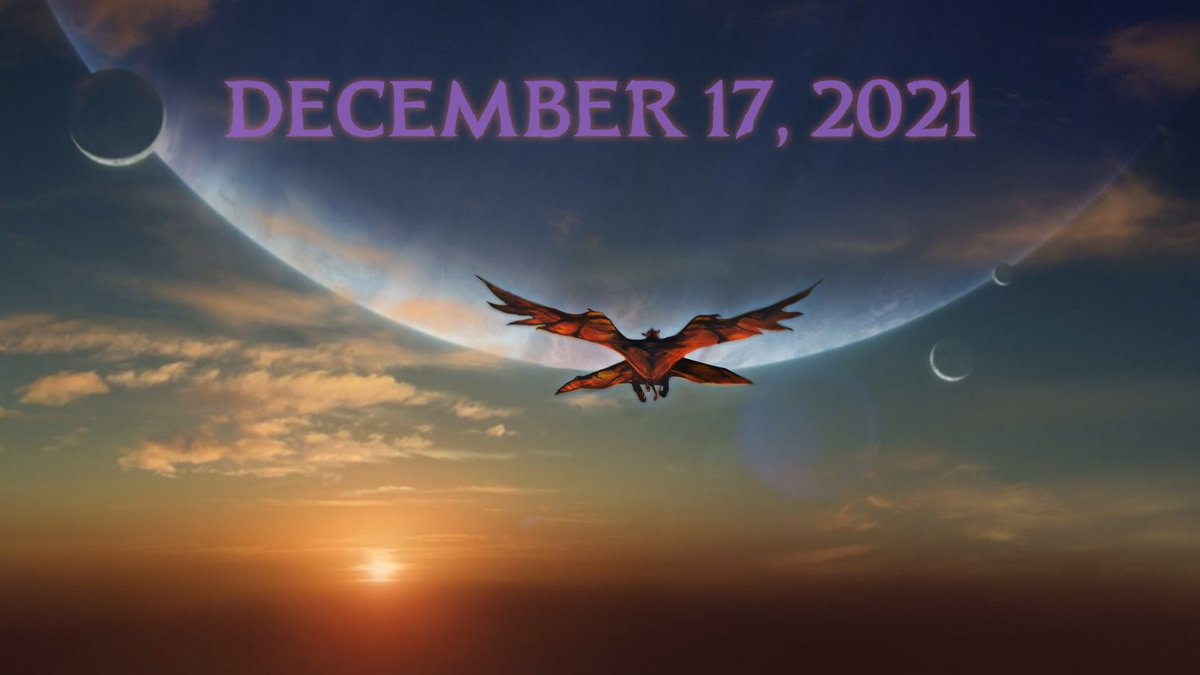 IT'S OFFICIAL... James Cameron announces the release date of the hugely awaited #Avatar2: 17 Dec 2021. #Christmas2021