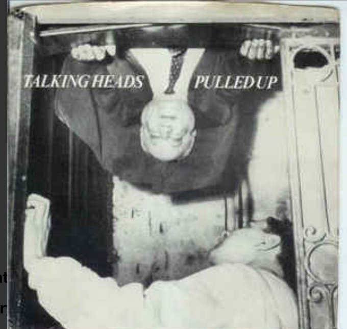 Talking Heads Pulled Up from their debut album 77. Happy Birthday to drummer Chris Frantz