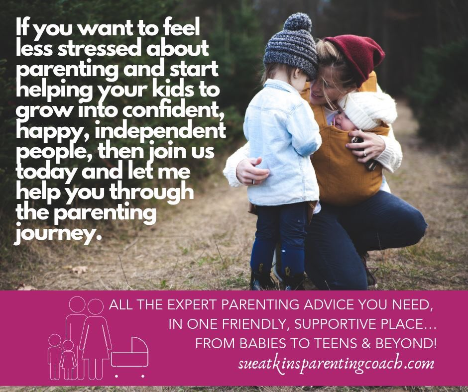 If you're feeling overwhelmed & stressed-out then you're really not alone. Raising happy, confident kids isn't easy. Every parent faces challenges along the way, from teething babies to Instagram-obsessed teens. Check out The Sue Atkins Parenting Club -> bit.ly/2JjGdK7