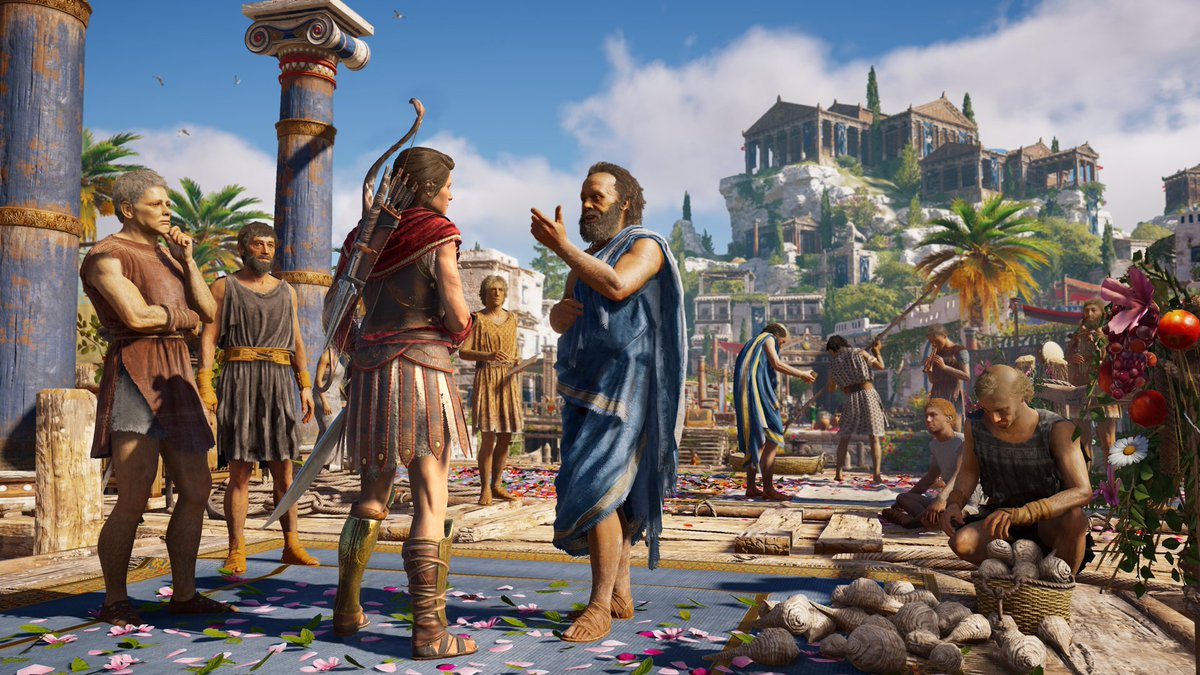 Giveaway 💯 Assassin's Creed® Odyssey for Steam.  RT + Follow to enter. Draw: 26th May  GL & HF