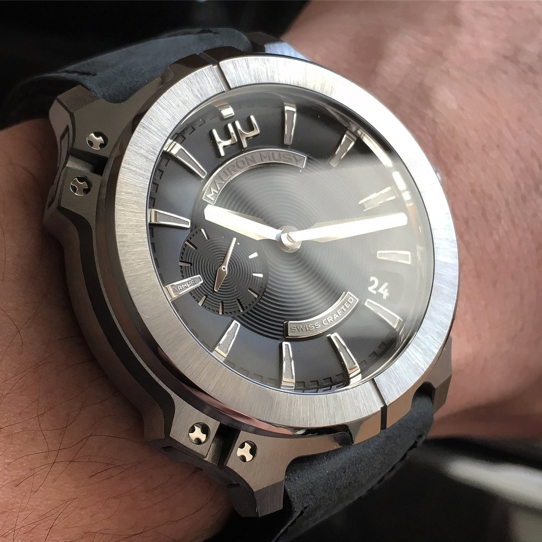 cafa2ab62ecd6 Available exclusive at Watch Gallery Dubai mall For more information  contact 0097144341544  watches  Mauron  mauronwatches  luxurywatches  luxury   elegant ...