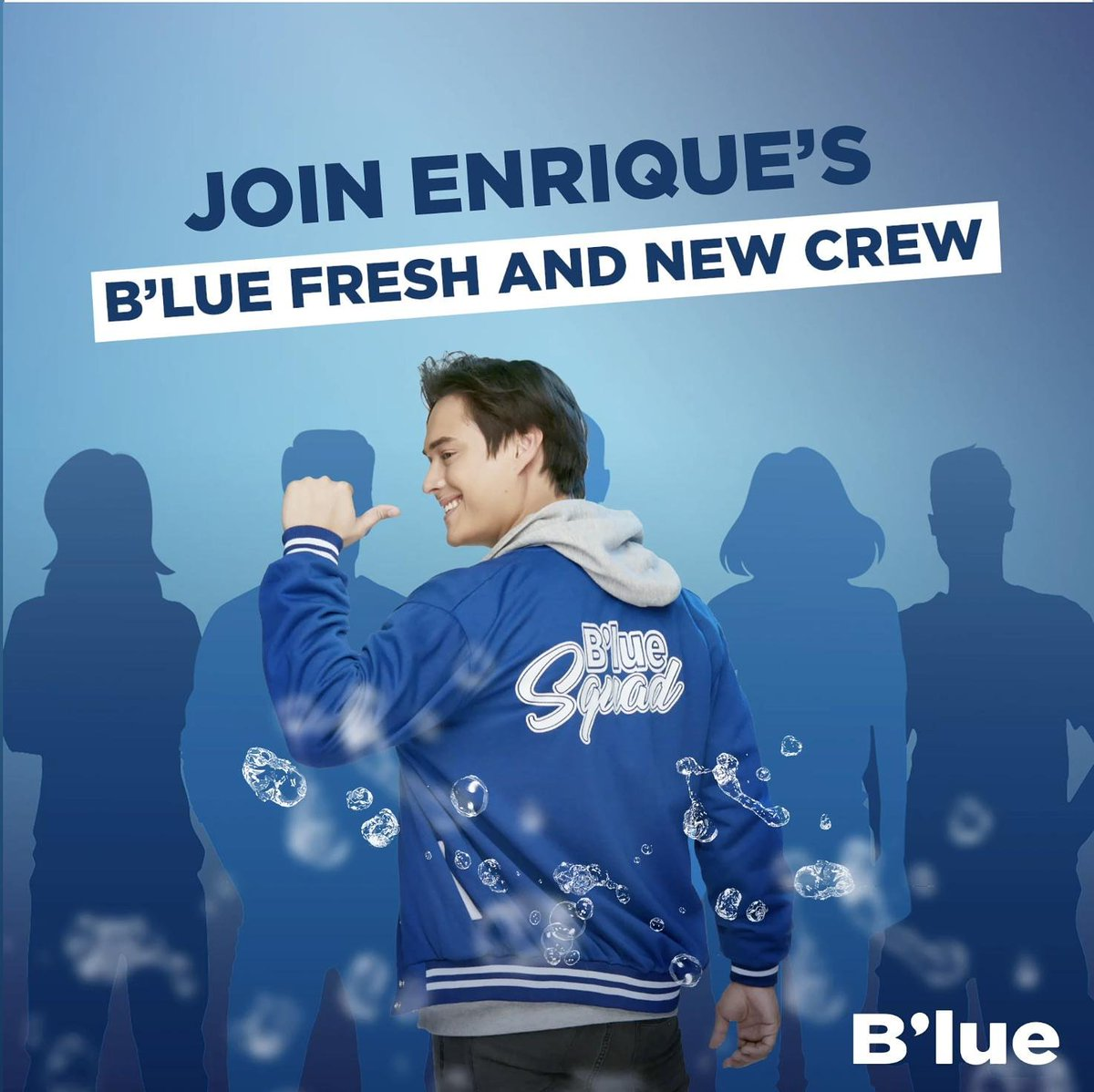 Eto na mga beshie, chance niyo nang maging part ng FRESH & NEW Crew ni Quen!  You QUEN join by simply uploading a photo of you drinking B'lue and tell us kung bakit ka laging #FreshAndNew coz of B'lue. Don't forget to tag our account and use the hashtag #BlueFreshAndNewCrew.