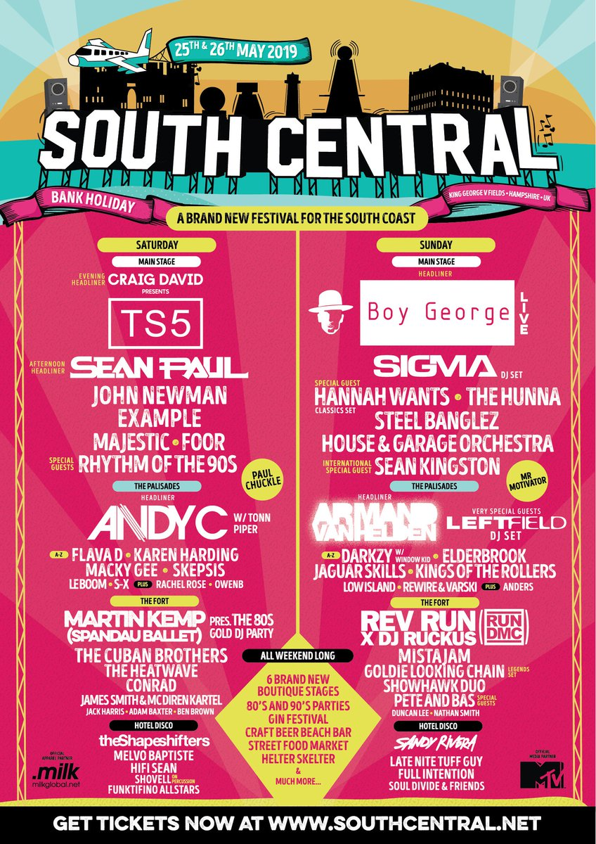 🇬🇧 Two weeks to go until @SouthCentralnet 👀🙌🏾 Bringing the @TS5 vibes for my headline set 🎶🏆🔥 #TS5 https://t.co/H1sR7FIFZG