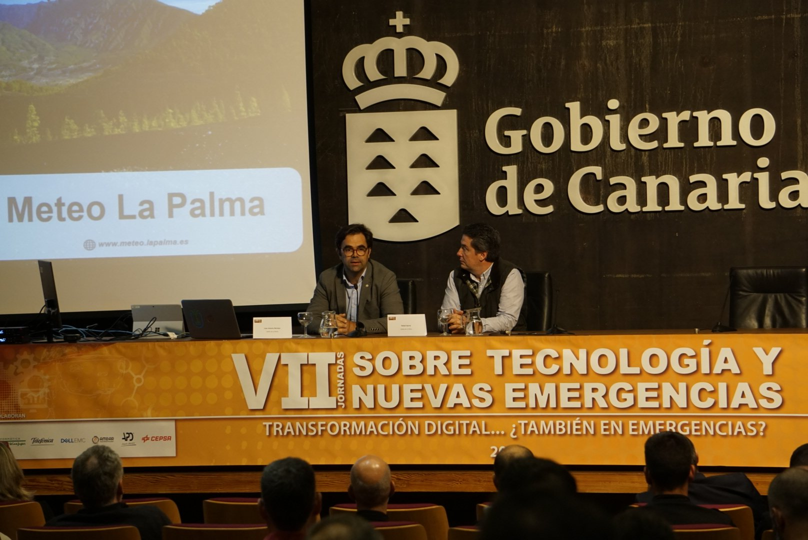 Juan Antonio Bermejo y Rafael Gargía