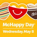 Image for the Tweet beginning: Today is McHappy Day in