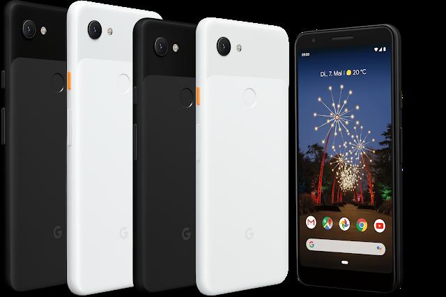 Das Google Pixel 3a und Google Pixel 3a XL