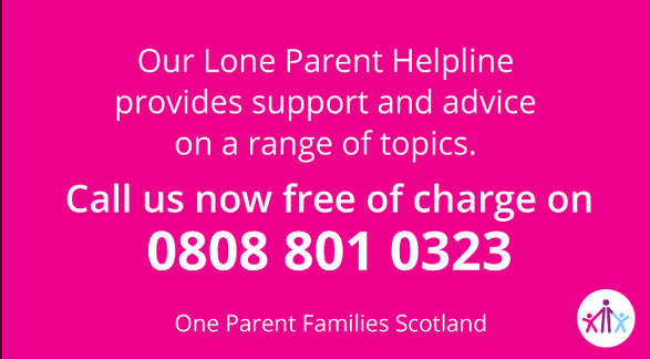 One Parent Families Scotland On Twitter Need Advice On Benefits Child Maintenance And Contact With Your Children Call Our Freephone Lone Parent Helpline On 0808 801 0323 Https T Co Jwwex1fb36 Https T Co D1qfvfngop