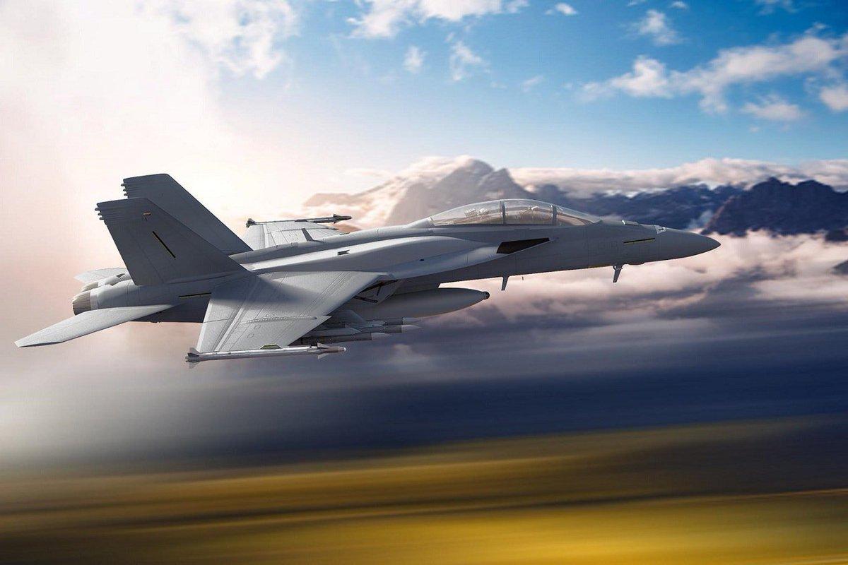 شركة Boeing تكشف عن مقاتلة F/A-18 Block III Super Hornet المستقبليه  D6CHJSgWkAAmFZa