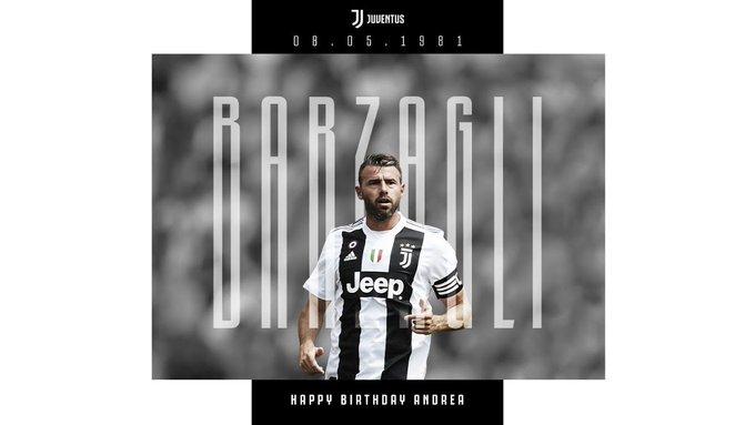 Happy birthday, Andrea Barzagli!