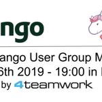 Image for the Tweet beginning: Das 9. #Django Meetup wird