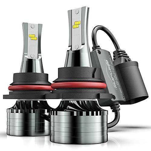 BPS Lighting B2 Series 9006//HB4 LED Headlight Bulbs Conversion Kit 12000LM 100W