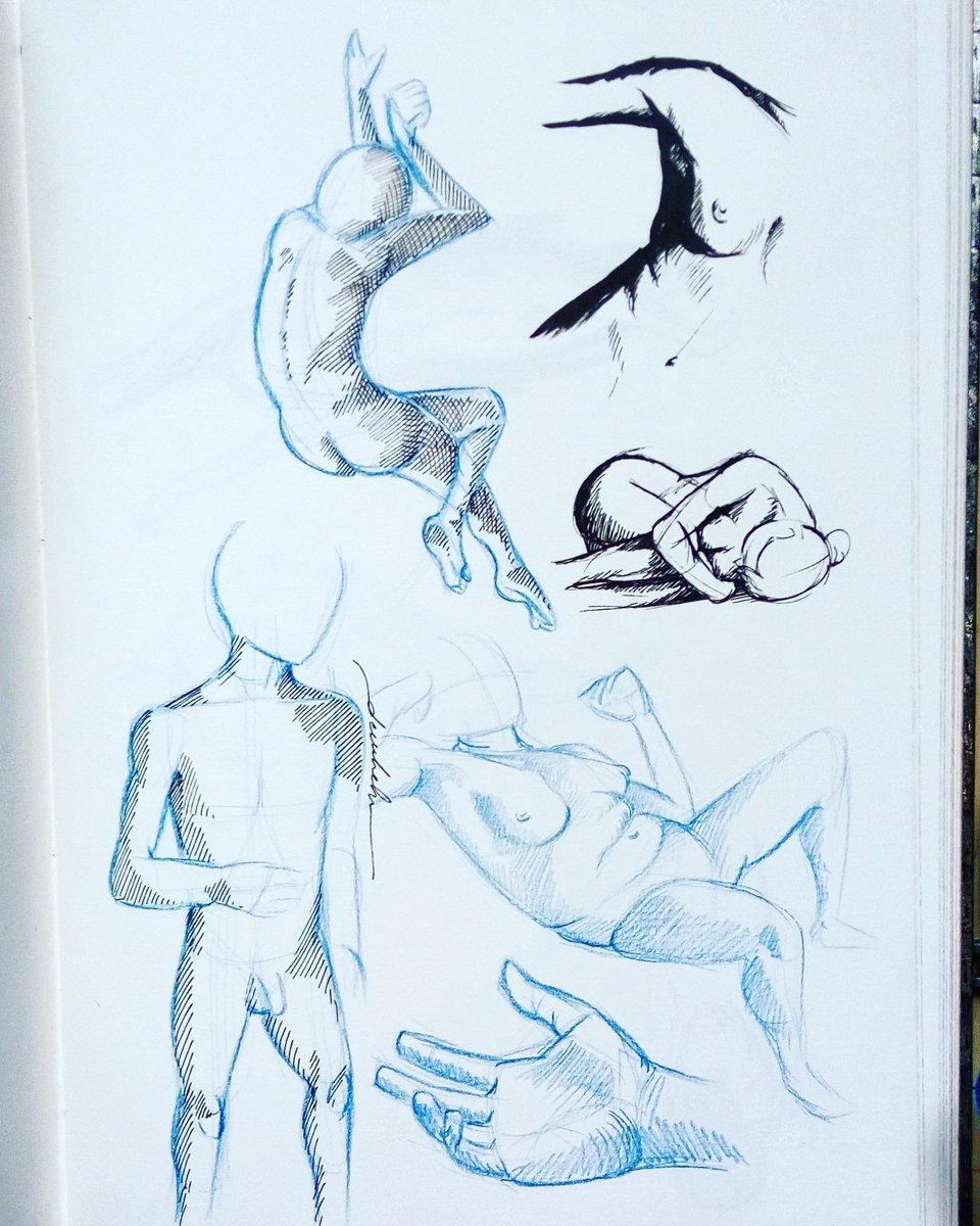 Figure sketches #dailyart #dailyillustration #bodyproportions #figuredrawing #figurativedrawing https://t.co/SQRLHXGyqq