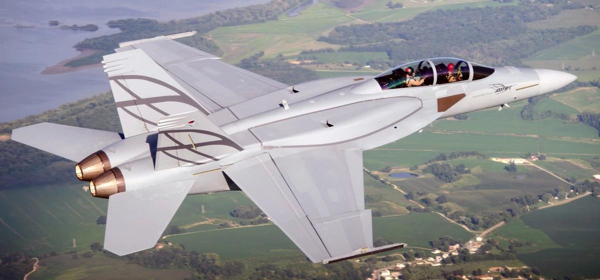 شركة Boeing تكشف عن مقاتلة F/A-18 Block III Super Hornet المستقبليه  D6CWow2XsAIELB5
