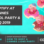 Captify's Global Director of Marketing, @LauraPleasants, shares a sneak peek behind the scenes into planning of the most talked about events in the Cannes calendar: https://t.co/WrF4JBgPjZ #CaptifyatCannes #CannesLions @akommo