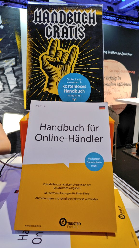 Trusted Shops On Twitter Kommt Uns An Stand B10 In Halle 6