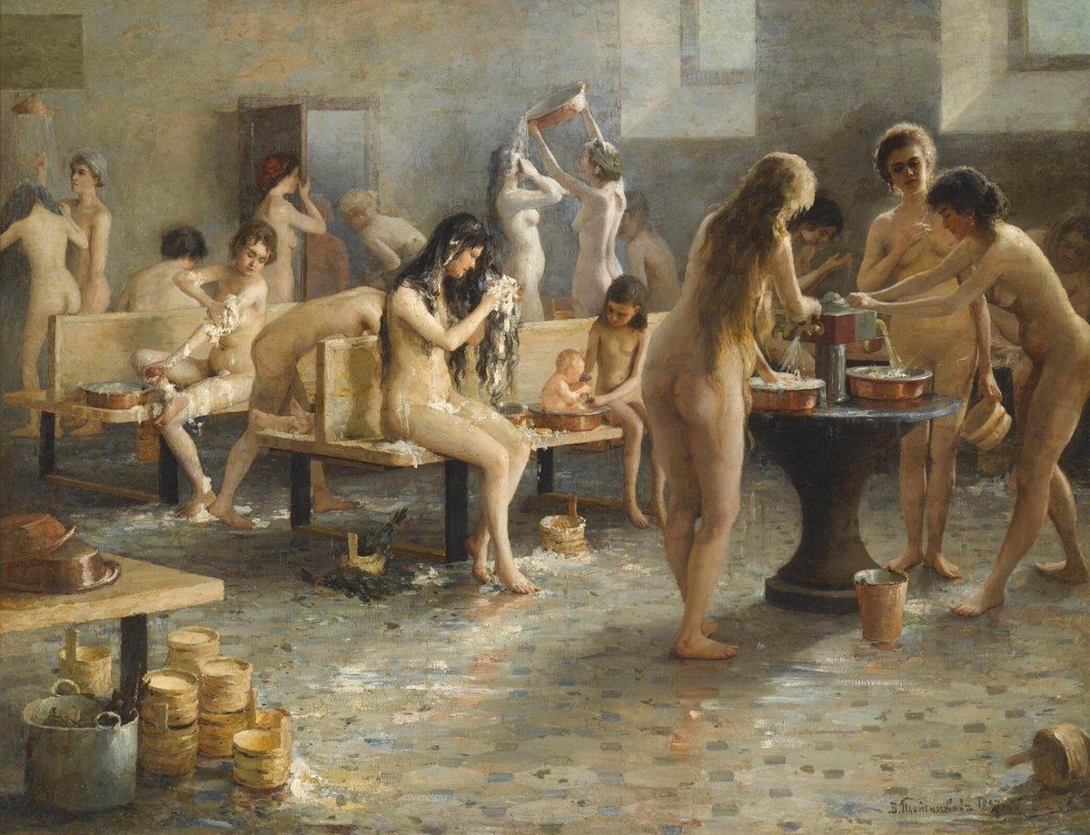 денис в женской бане поймал себя мысли