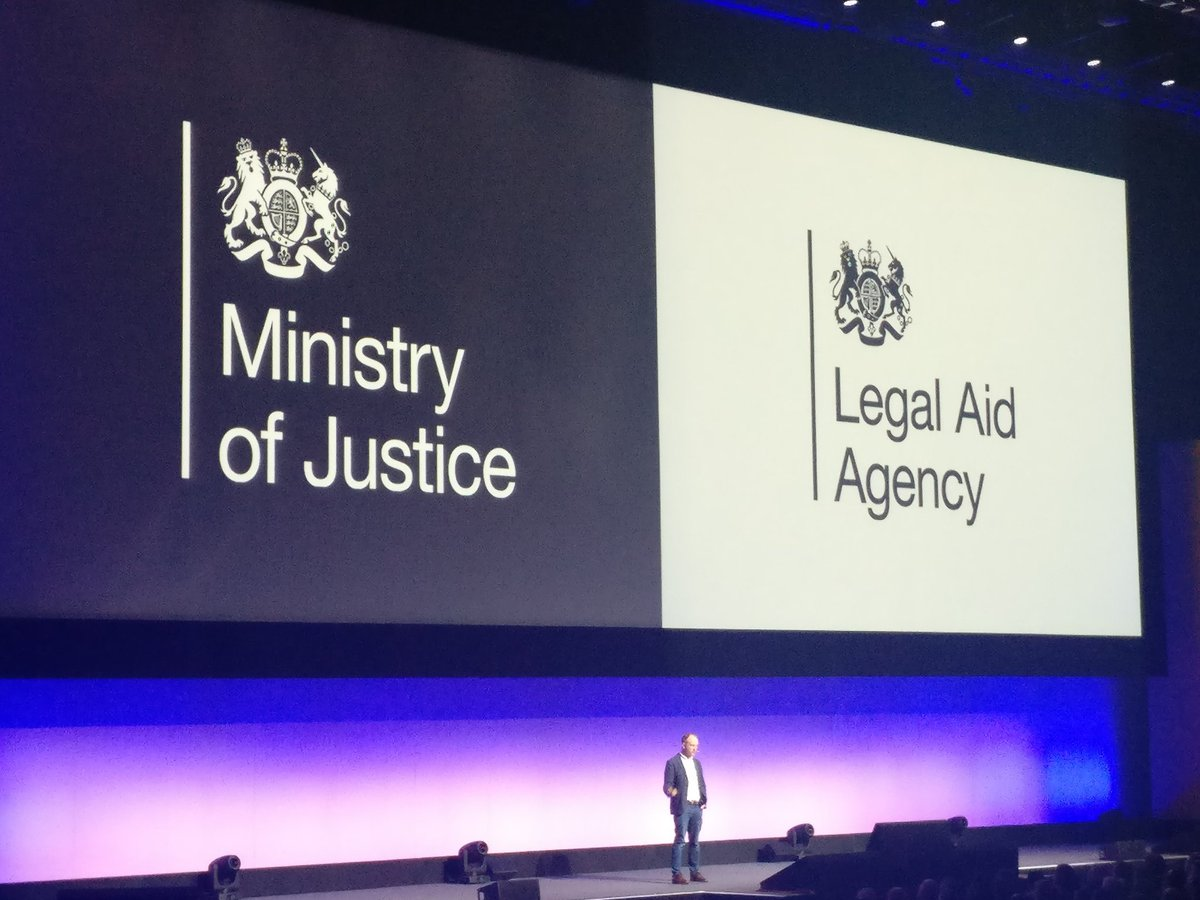 Great to see the work we are doing at the  MOJ and LAA being showcased on a global platform at #AWSSummit