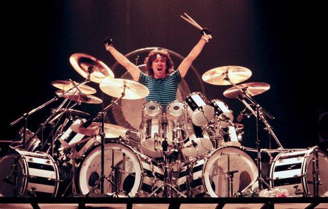 Happy 66th Birthday to Alex Van Halen on heavy artillery!