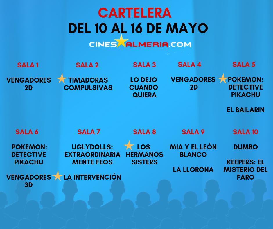 Cines Monumental On Twitter Cartelera Del 10 Al 16 De