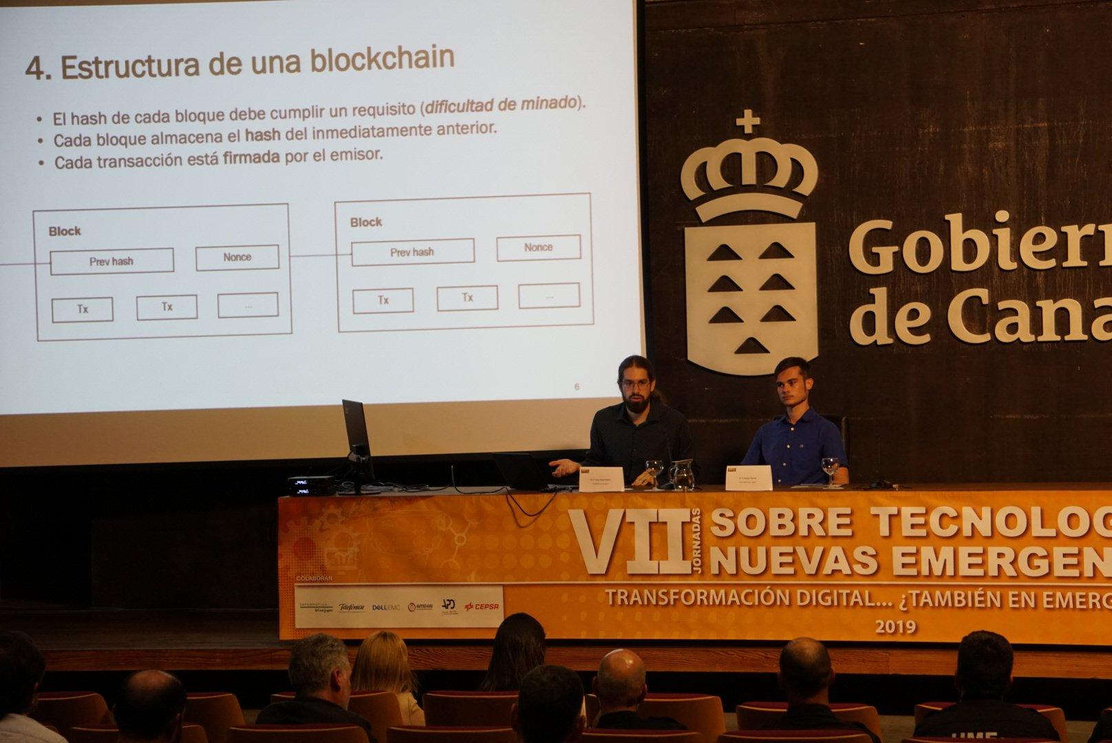 Juan Jesús Padrón y Sergio Ferrera