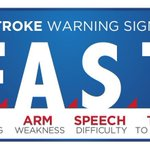 Image for the Tweet beginning: May is National Stroke Awareness