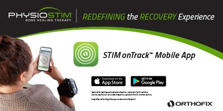 Want to keep your patient's recovery onTrack? We have an app for that! #RedefineTheRecoveryExperience