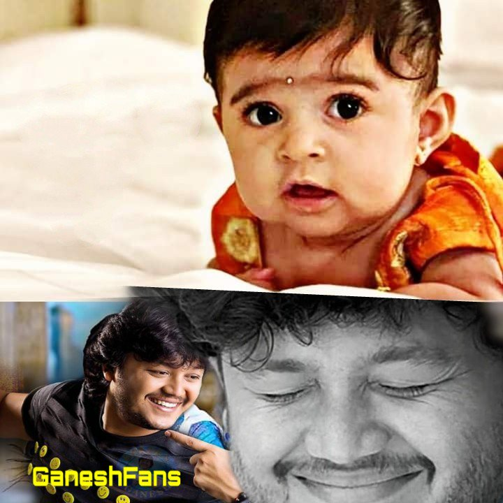 Cute Baby ❤️  @Official_Ganesh @ShilpaaGanesh @TheNameIsYash @YashTrends #JuniorRadikaPandita #YR