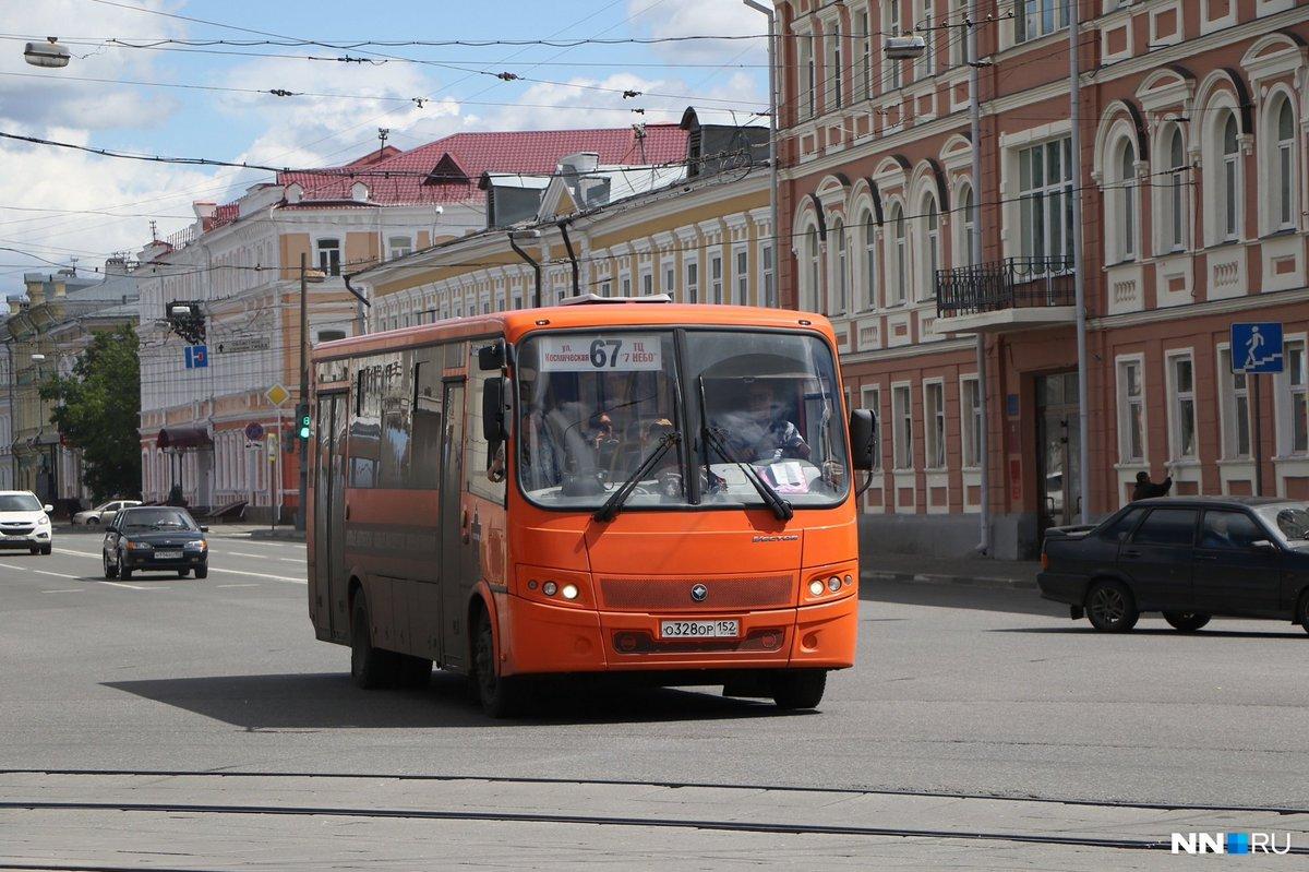 Автобусы нижнего новгорода картинки