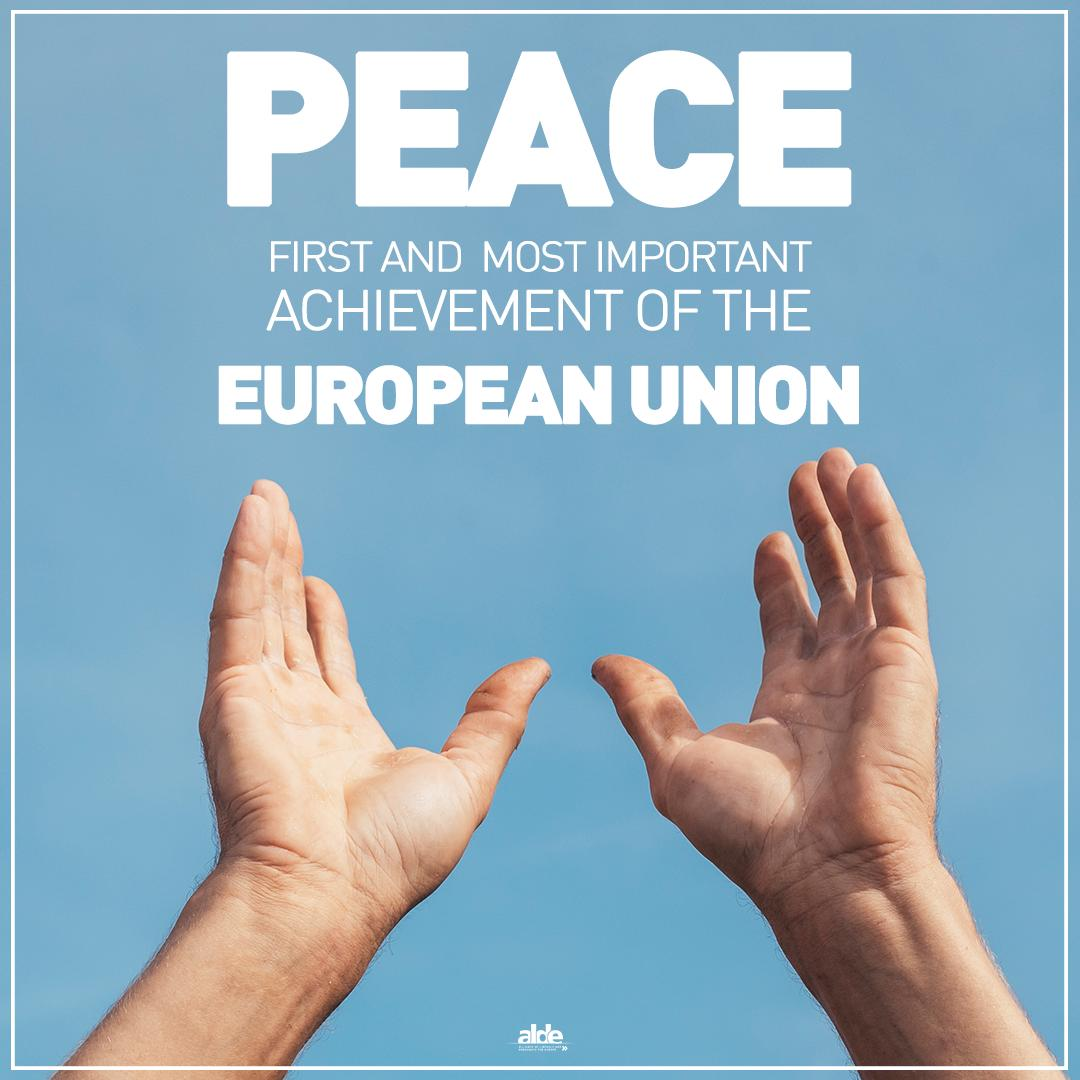 WWII officially ended 74 years ago, leaving a tragic toll of death and destruction all across our Continent. We should never forget that lasting peace has been the first and most important achievement of the EU. It's our duty to protect this legacy for future generations.