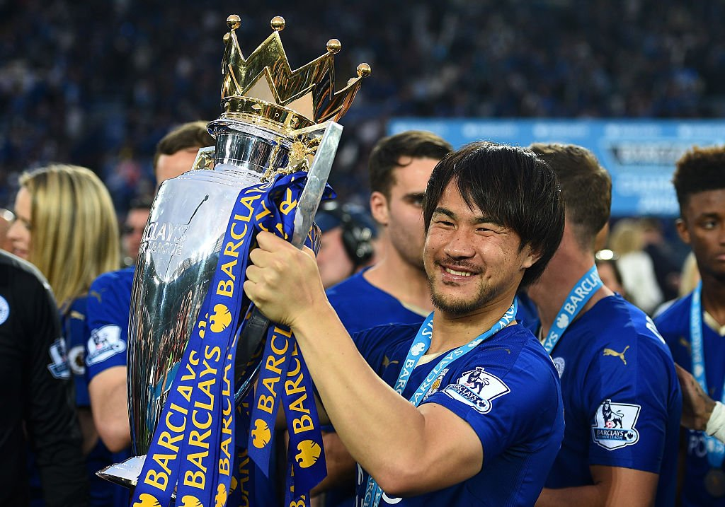 5f027aae they depart as premier league winners leicester have announced danny simpson  and shinji okazaki are set