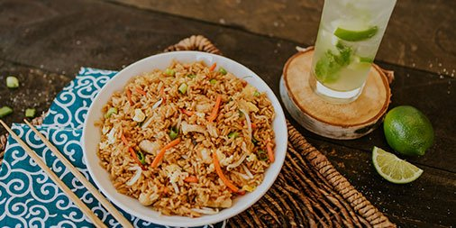 Image result for pf chang mojito and fried rice