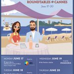 YAS🇫🇷 I'm officially returning to #Cannes2019 with @Brand_Innovator! I may be biased, but I think we're the hottest ticket in town🔥 Brand Innovators Roundtables @ Cannes: June 17 hosted by @iriworldwide  June 18 hosted by @Captify  June 19 hosted by @pandoramusic  June 20 (TBD)