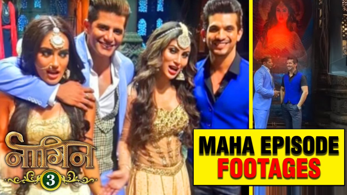 Naagin 3 - MAHA EPISODE With Mouni Roy Arjun Bijlani &