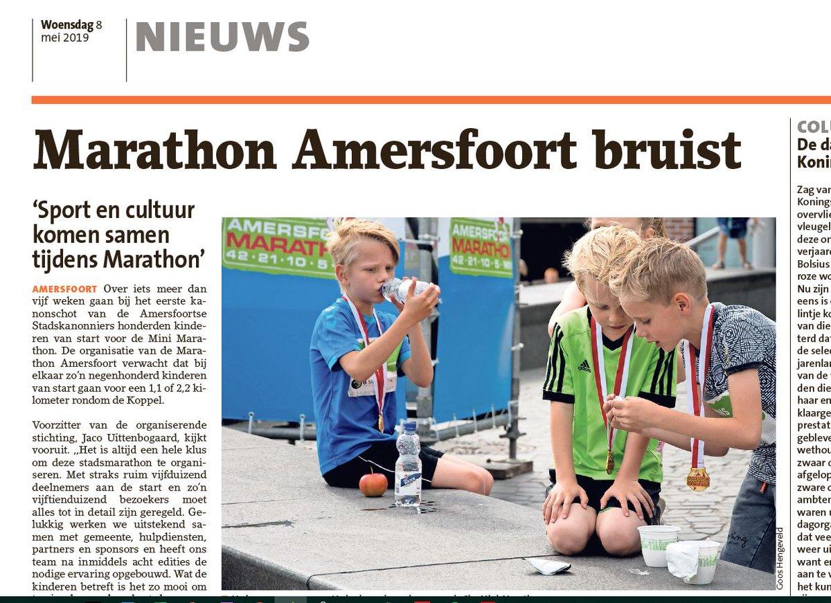 Amersfoort Marathon On Twitter Voorzitter Stichting