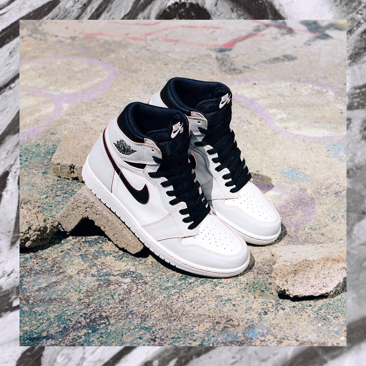 ddf3de77f7619 The shoe pays homage to the original Air Jordan 1 that found its way into  skateboard culture in the mid 1980 s.