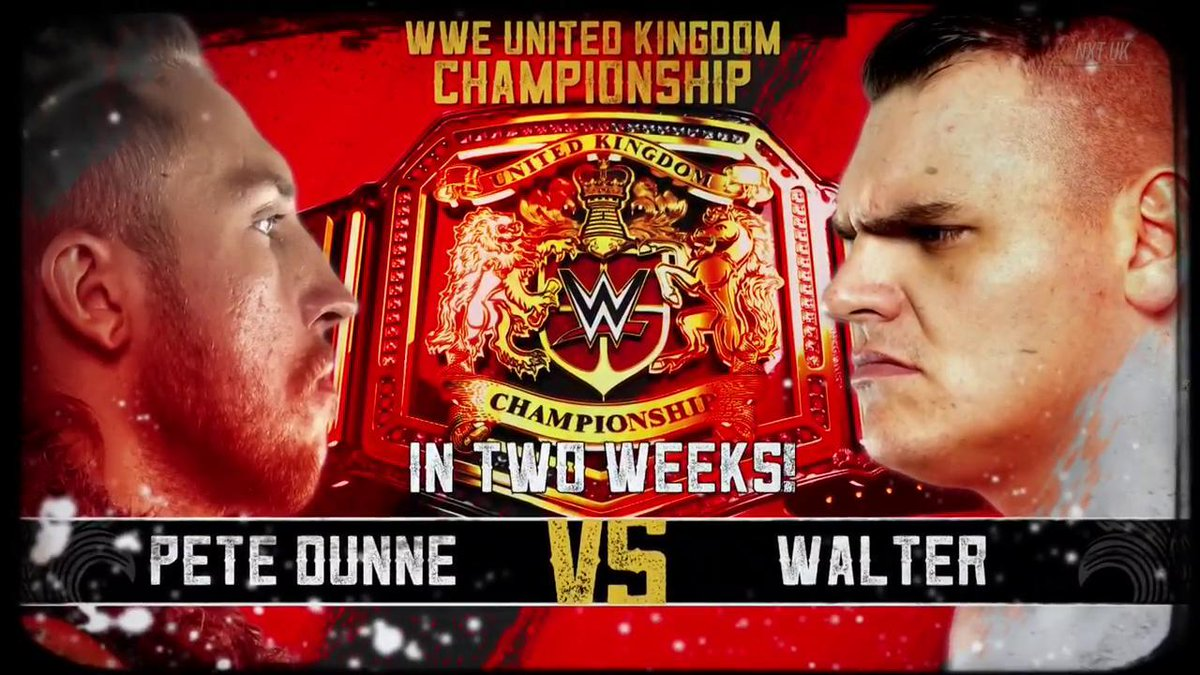 WWE UK Title #1 Contender To Be Decided After Fatal 4 Way Qualifiers, Pete Dunne's UK Title Rematch
