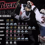 Did you miss the Rush home schedule release? Here it is, but still check out the video 👀