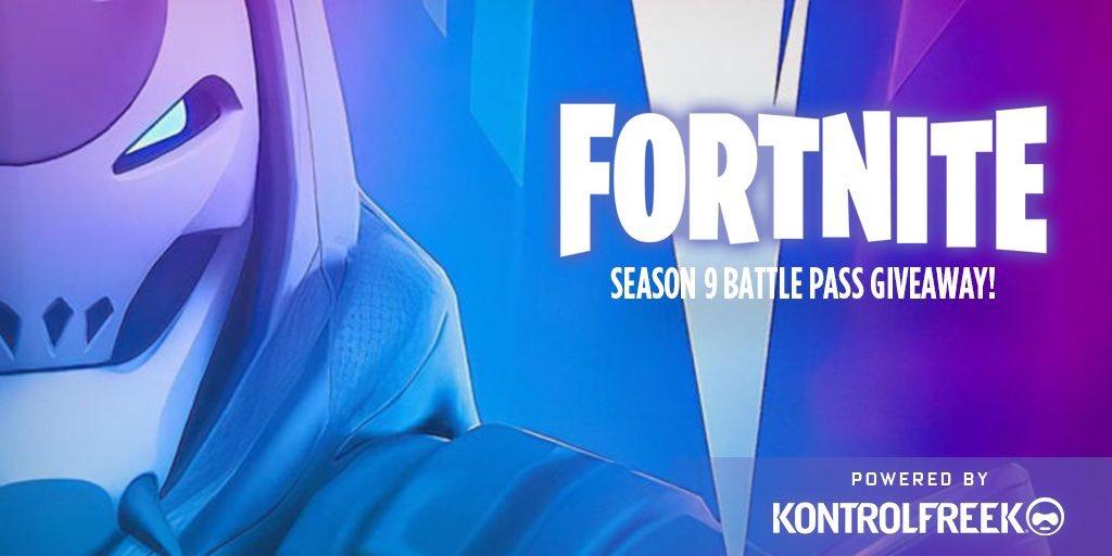 ⚠️SEASON 9 Battle Pass Giveaway⚠️  Me and @KontrolFreek are giving away 9 Battle Pass for Fortnite's New Season 9.  🔸How to enter:🔸  - Click Link Below! - RETWEET  https://sdqk.me/VN5DzF5P/hollow-fn-season-9-battle-pass-giveaway…