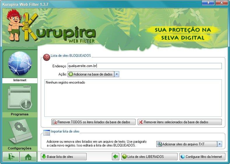 kurupira web filter 1.0.20
