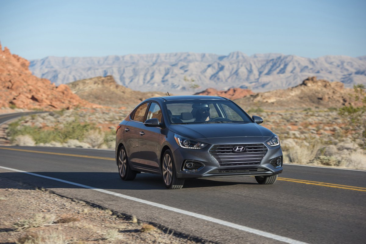Hyundai Accent 15 Mpg >> Tflcar On Twitter The 2020 Hyundai Accent Now Manages 41